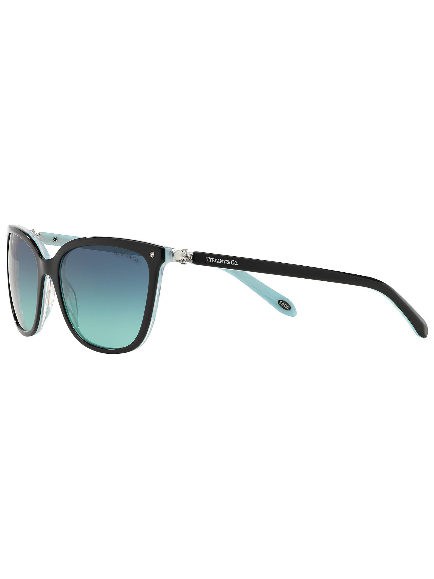9976a4782bd1 Tiffany   Co TF4105HB Square Sunglasses at John Lewis   Partners