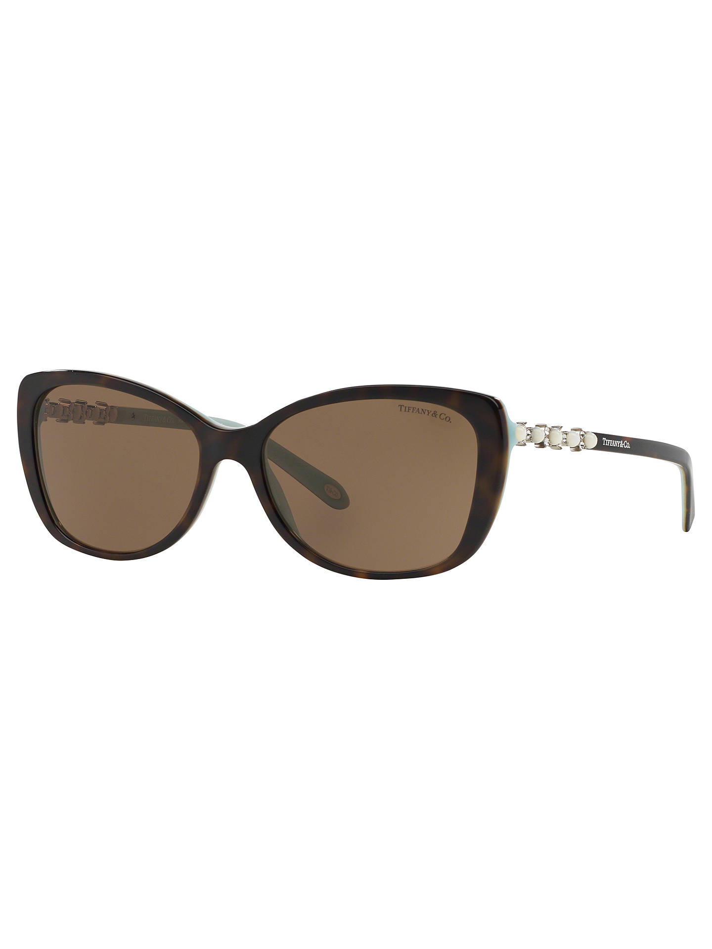 eff26451b595 Tiffany   Co TF4103HB Cat s Eye Sunglasses at John Lewis   Partners