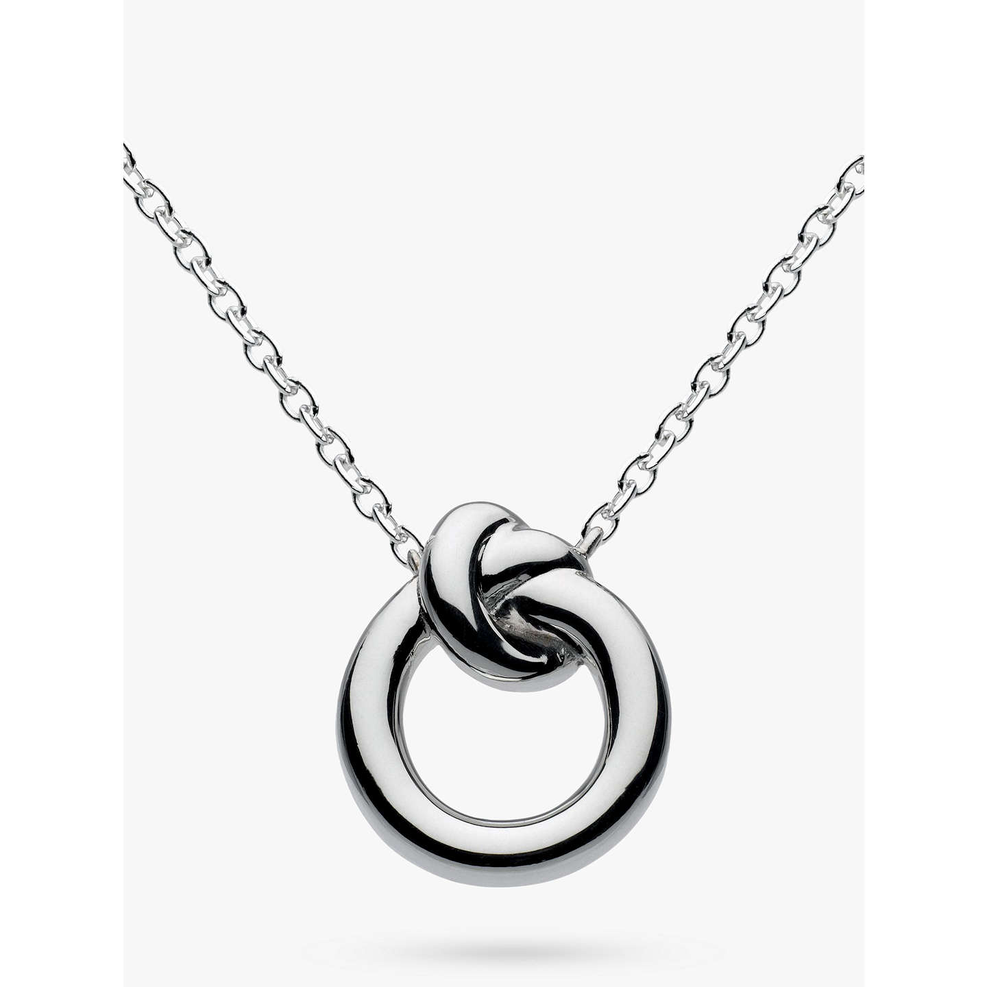 necklace pmr sterling az triquetra celtic jewelry bling pendant trinity knot inch silver