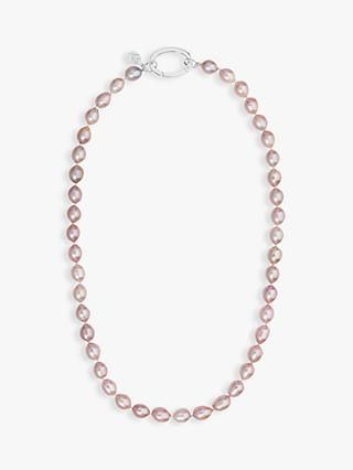 Claudia Bradby Rice Pearl Necklace