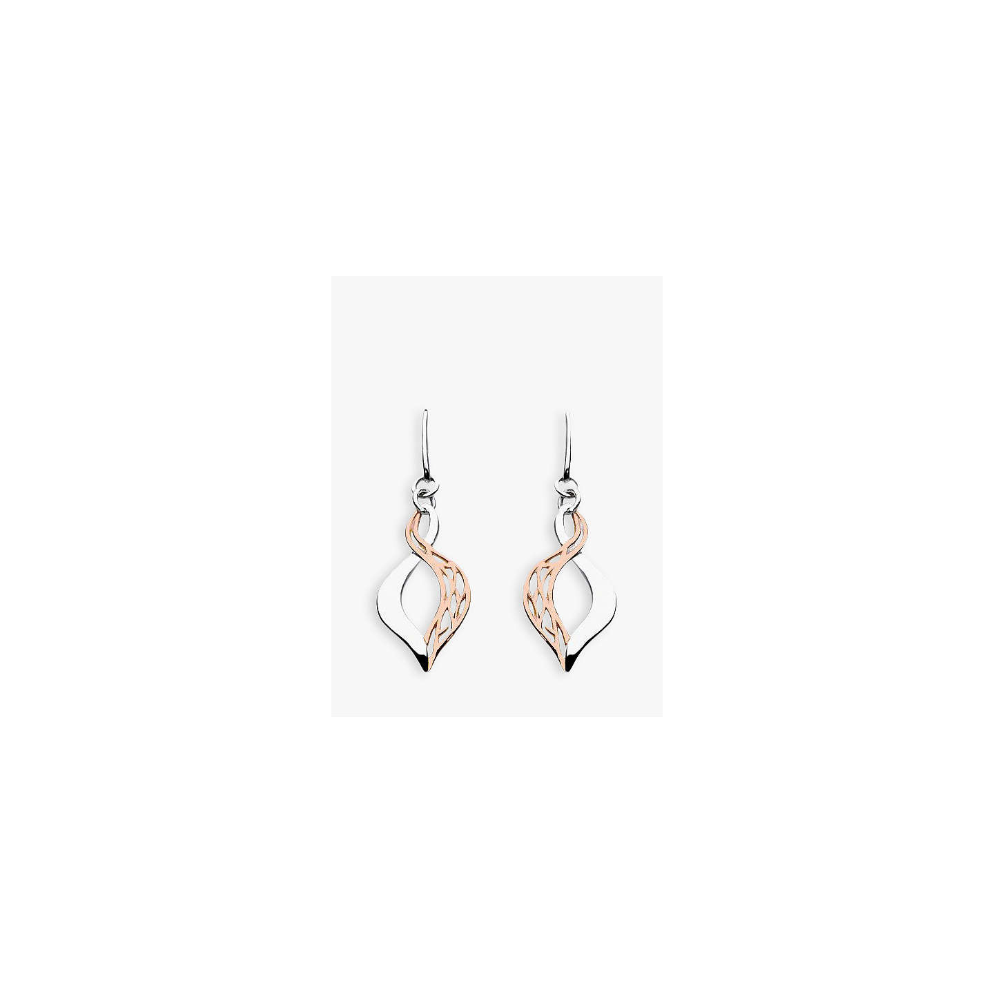 Kit Heath Grace Rose Gold Plated Sterling Silver Earrings Online At