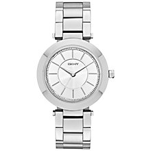 Buy DKNY NY2285 Women's Stanhope Stainless Steel Bracelet Strap Watch, Silver Online at johnlewis.com
