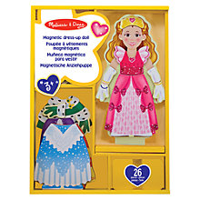 Buy Melissa & Doug Princess Elise Magnetic Dress-Up Set Online at johnlewis.com