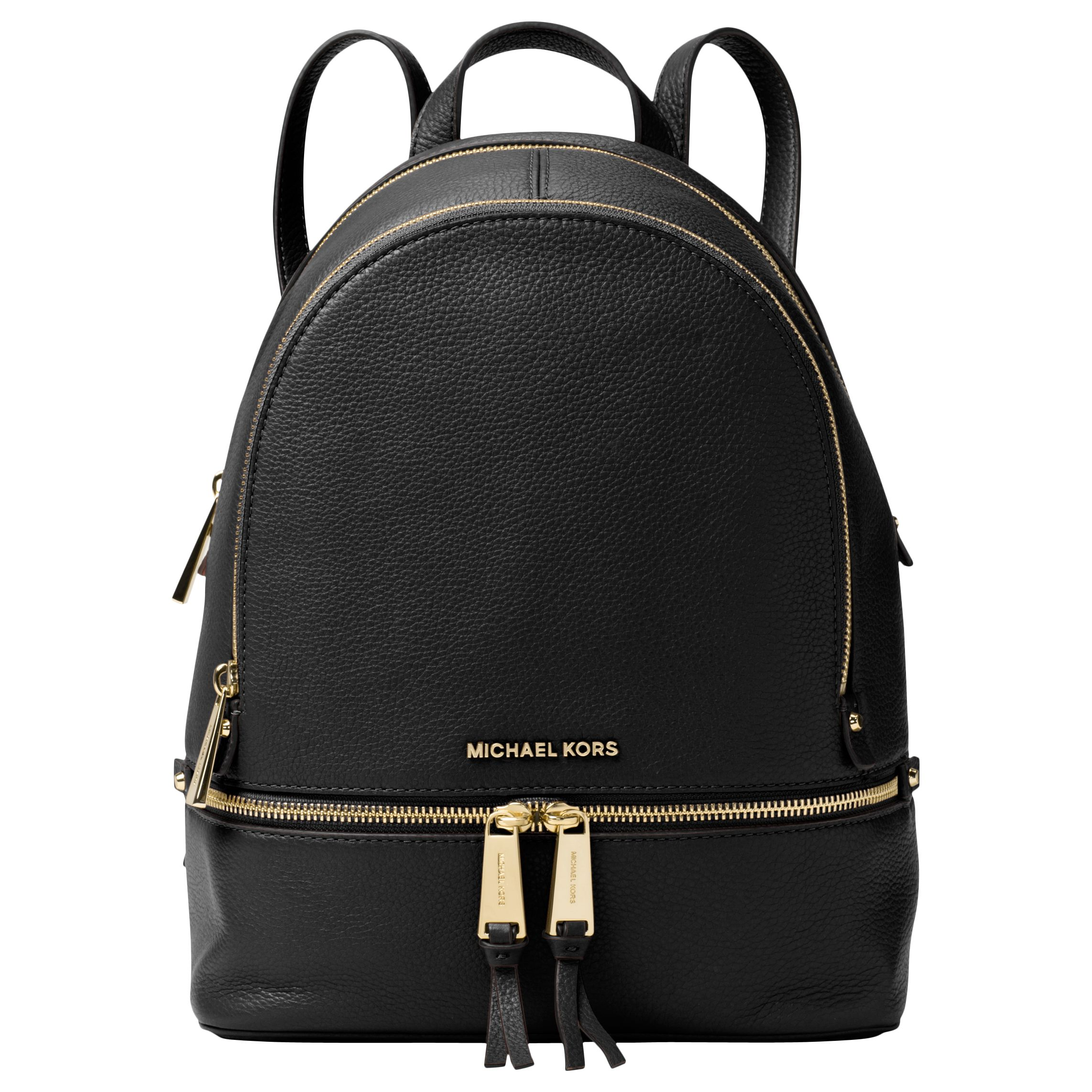 f1d3e1050428 MICHAEL Michael Kors Rhea Leather Backpack at John Lewis & Partners