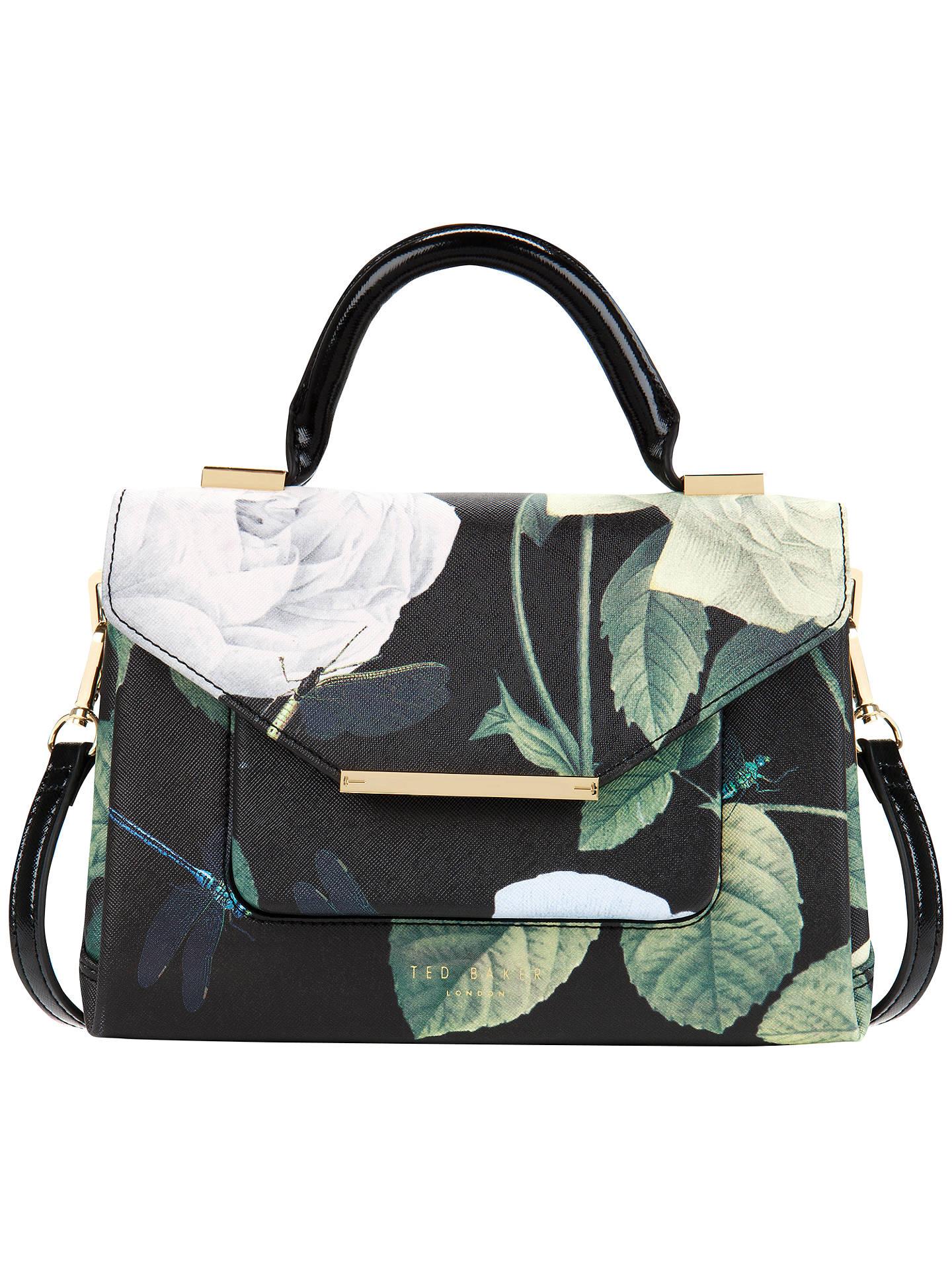 ca29e5e1182 Buy Ted Baker Domina Crosshatch Lady Bag, Black Online at johnlewis.com
