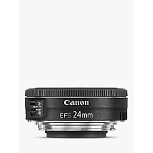 Buy Canon EF-S 24mm f/2.8 STM Lens Online at johnlewis.com
