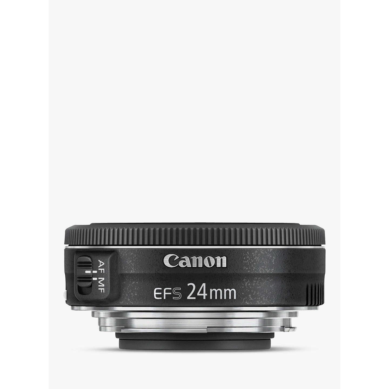 canon ef s 24mm f 2 8 stm lens at john lewis. Black Bedroom Furniture Sets. Home Design Ideas