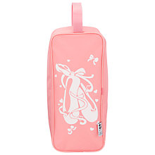 Buy Tappers and Pointers Ballet Shoe Bag, Pink Online at johnlewis.com