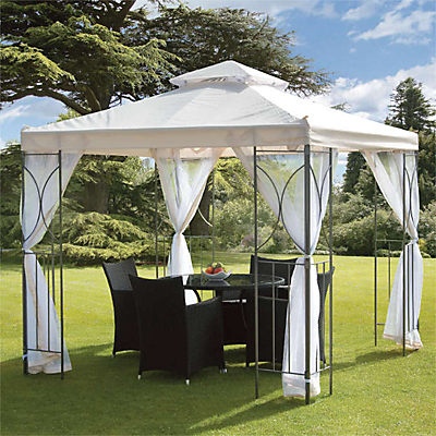 Suntime Polenza Gazebo with Net
