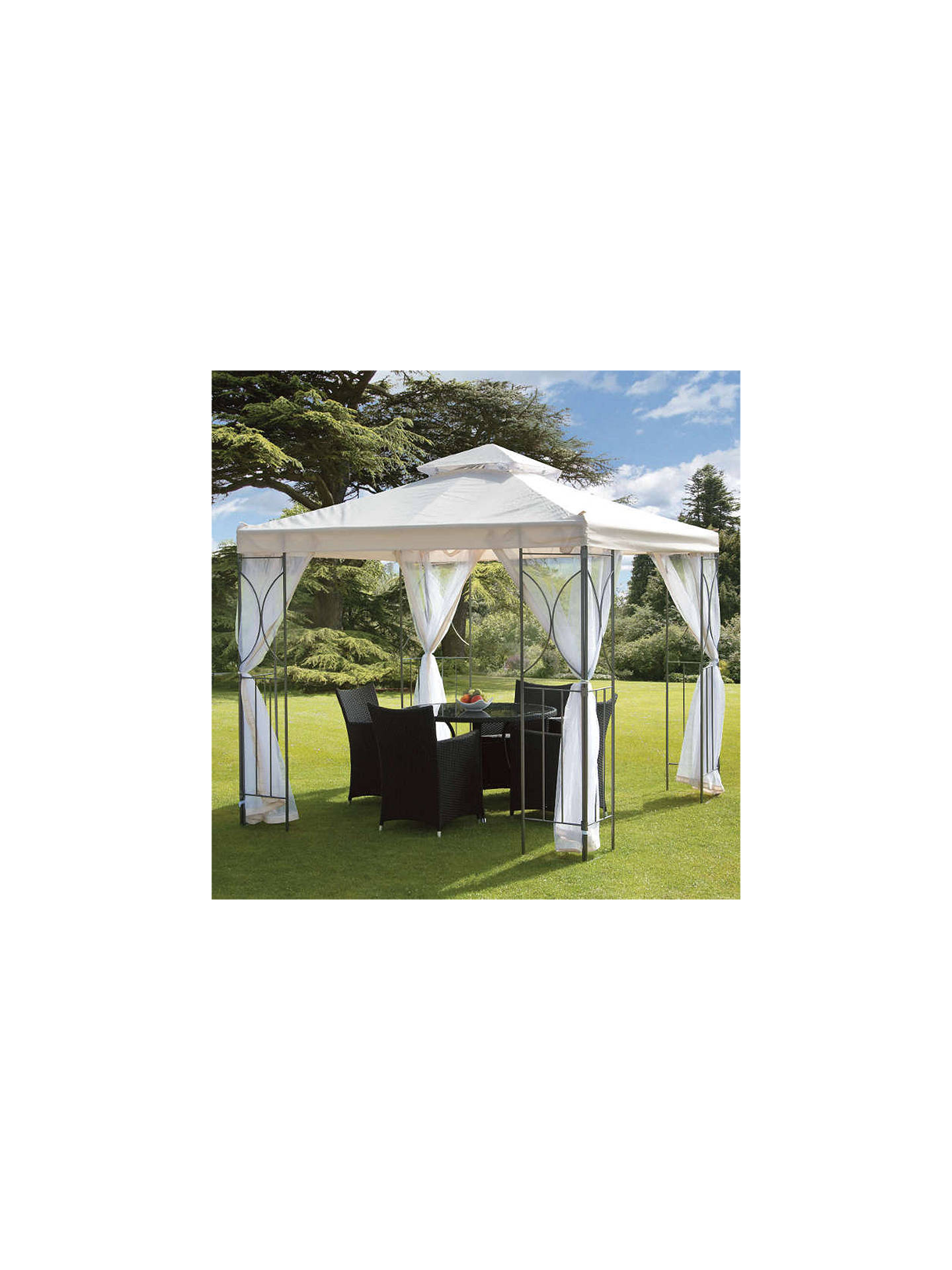 BuySuntime Polenza Gazebo with Net Online at johnlewis.com