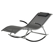 Buy Suntime Monte Carlo Rocking Sunlounger Online at johnlewis.com