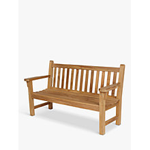 Buy Barlow Tyrie London 3-Seat Garden Bench Online at johnlewis.com