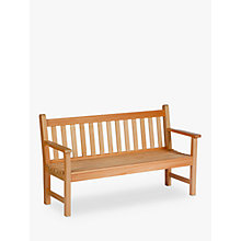 Buy Barlow Tyrie Lavenham 3-Seat Garden Bench Online at johnlewis.com