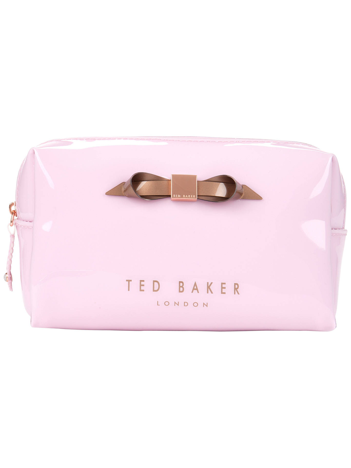 40d199c6f Ted Baker Nellyy Small Slim Bow Wash Bag at John Lewis   Partners