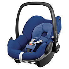 Buy Maxi-Cosi Pebble Group 0+ Baby Car Seat, Blue Base Online at johnlewis.com