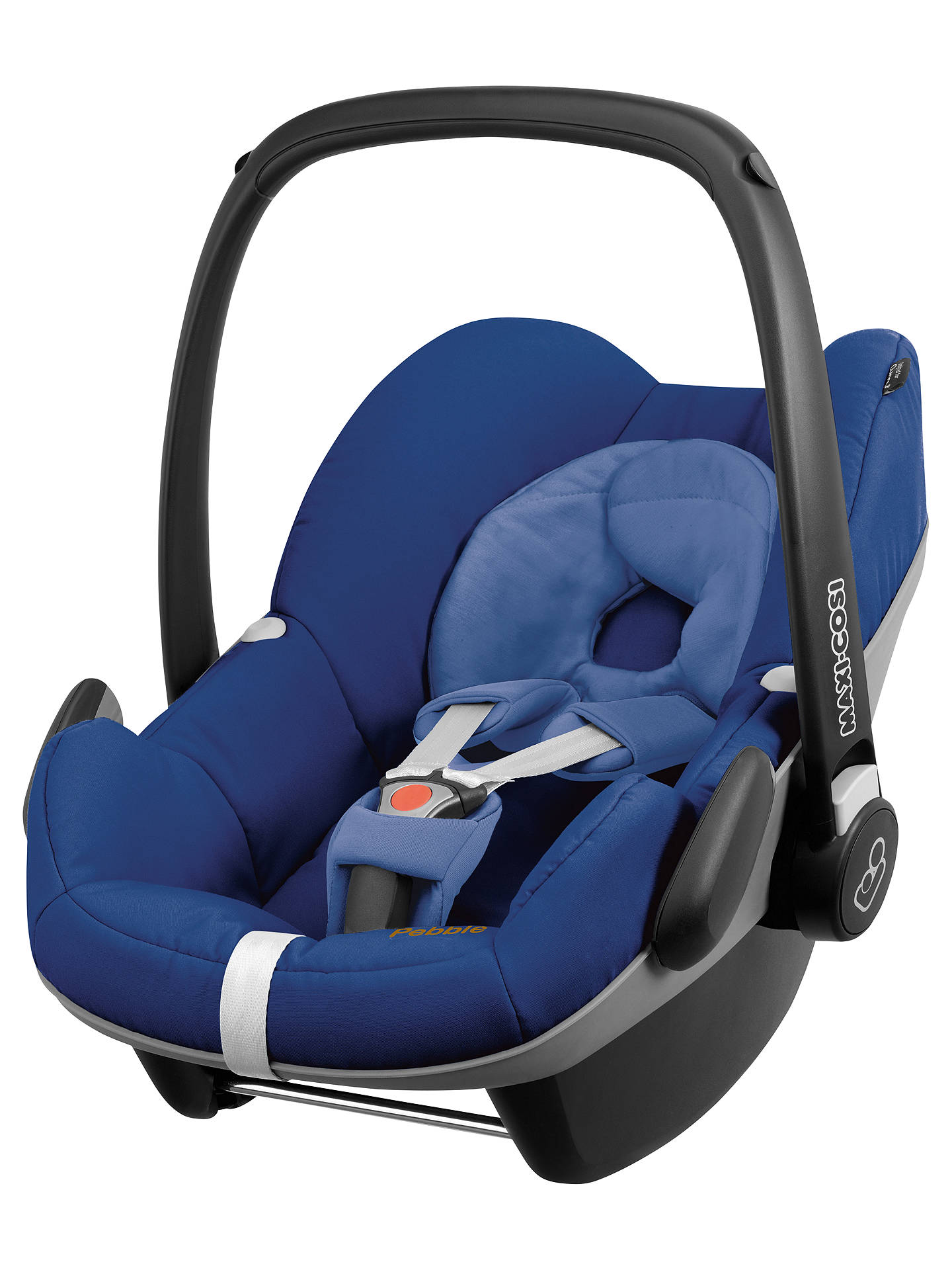 maxi cosi pebble group 0 baby car seat blue base at john lewis partners. Black Bedroom Furniture Sets. Home Design Ideas