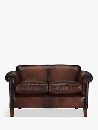 John Lewis Partners Camford Pee Leather Sofa