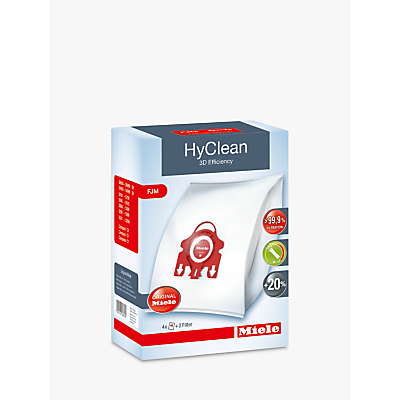 Miele FJM HyClean 3D Efficiency Vacuum Bag Review thumbnail