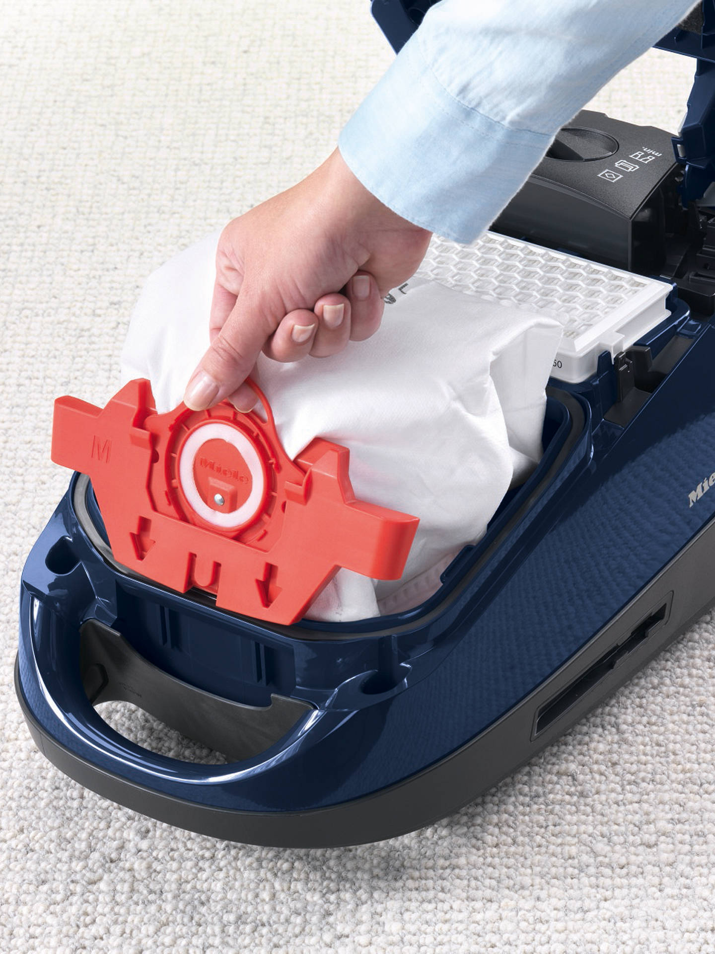 Buy Miele FJM HyClean 3D Efficiency Vacuum Bag Online at johnlewis.com