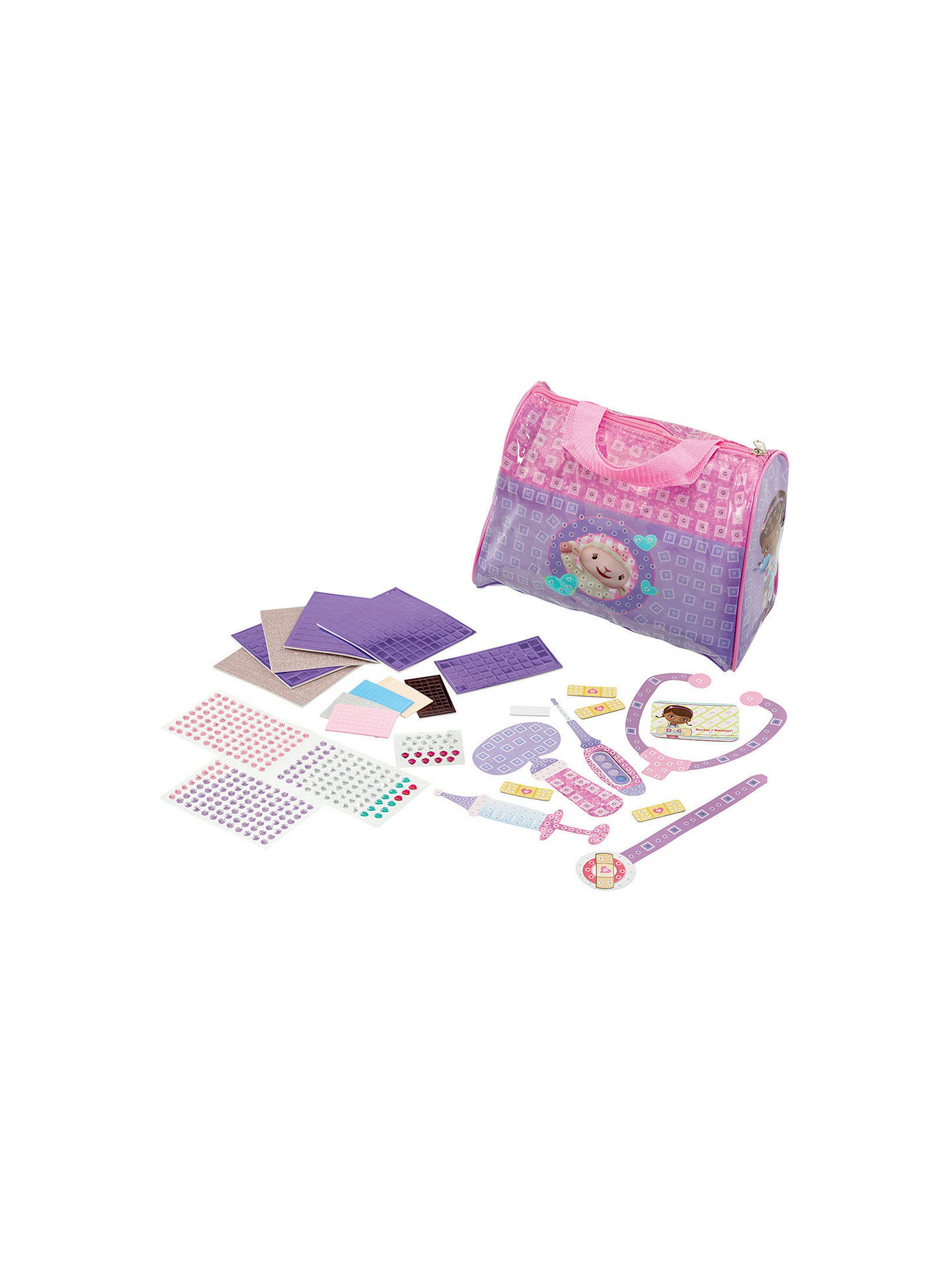 Cool Create Fun Tiles Disney Doc McStuffins Doctor's Bag at
