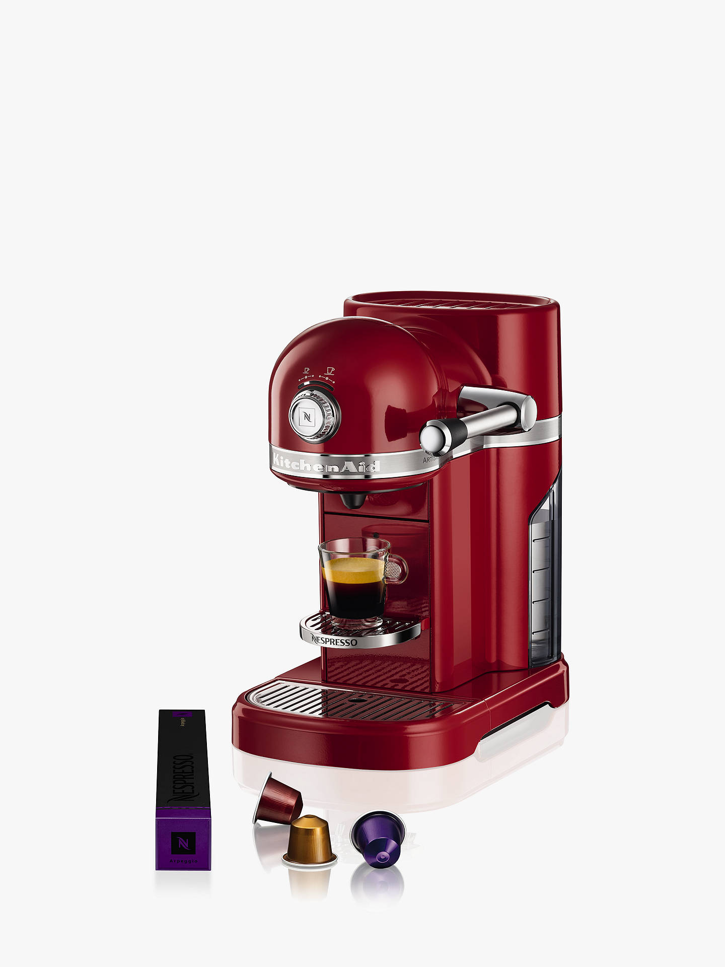 Nespresso Artisan Coffee Machine By Kitchenaid At John