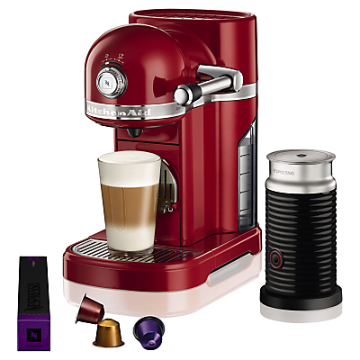 Nespresso By KitchenAid Artisan 5KES0504BER Nespresso in Red
