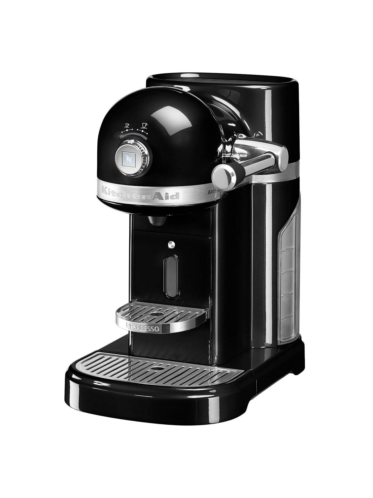 BuyNespresso Artisan Coffee Machine by KitchenAid, Onyx Black Online at johnlewis.com