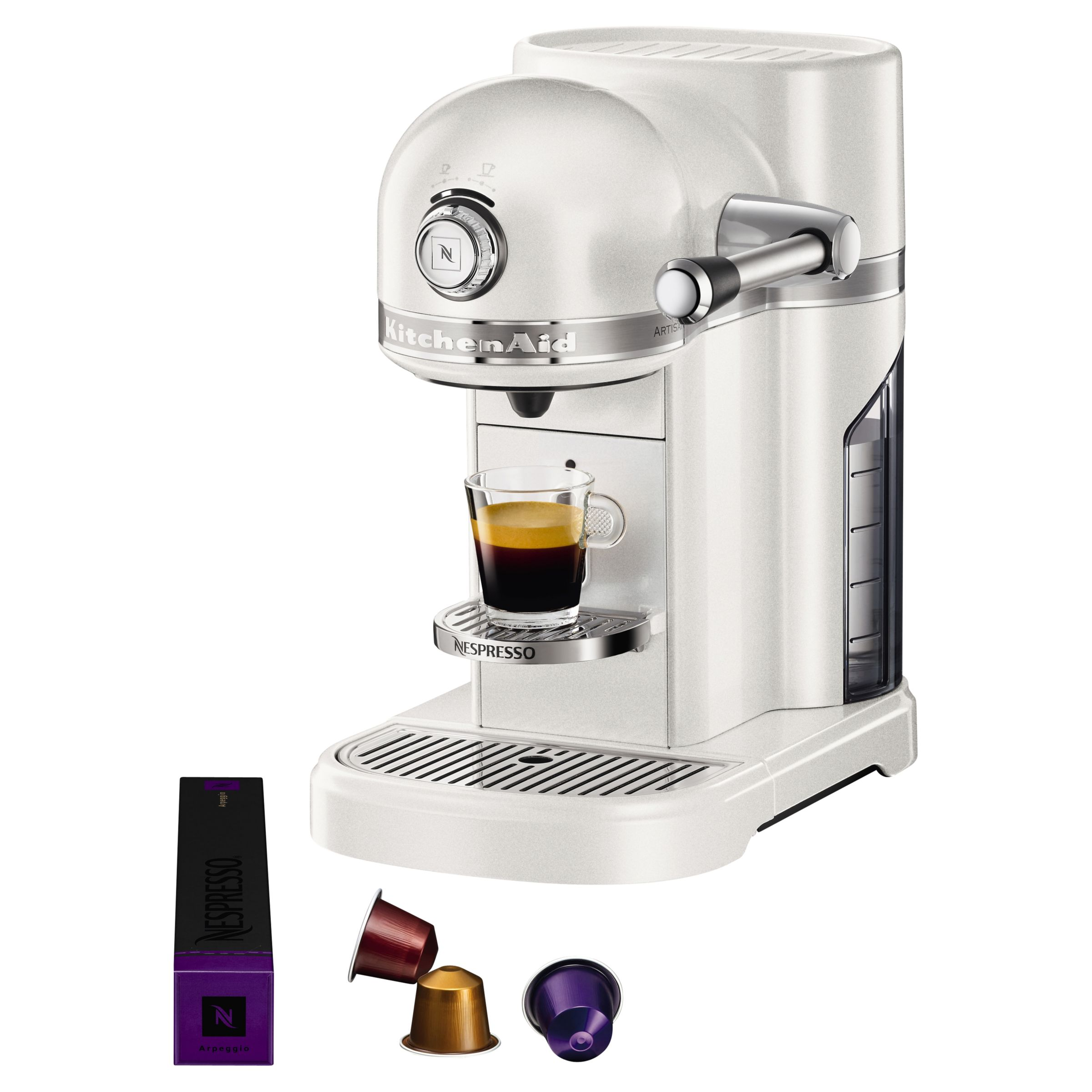 Buy Nespresso Artisan Coffee Machine by KitchenAid John Lewis