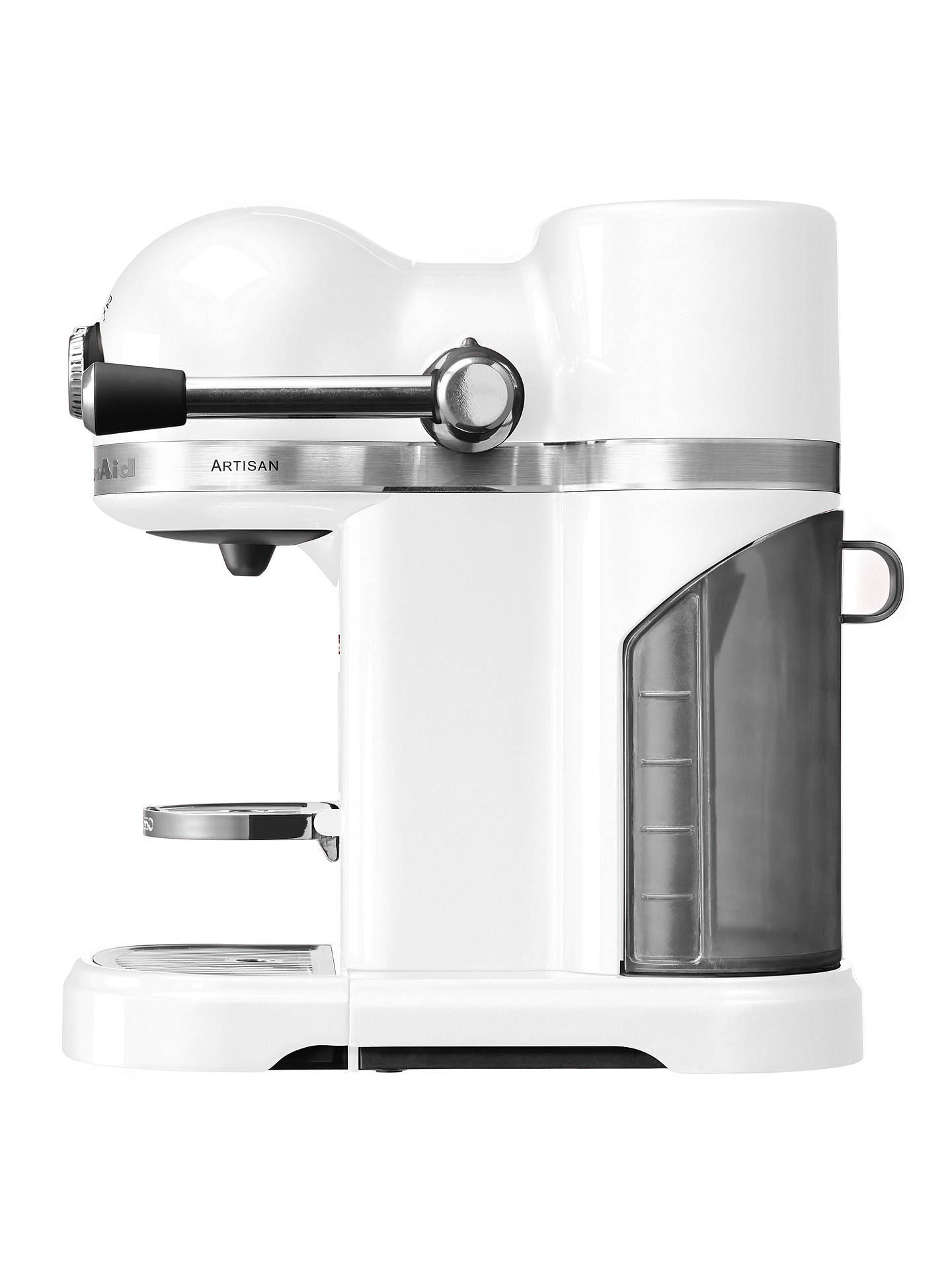 Buy Nespresso Artisan Coffee Machine by KitchenAid, Frosted Pearl Online at johnlewis.com