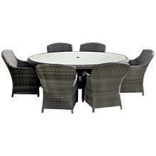 Buy Royalcraft Wentworth Imperial 6-Seater Outdoor Dining Set Online at johnlewis.com