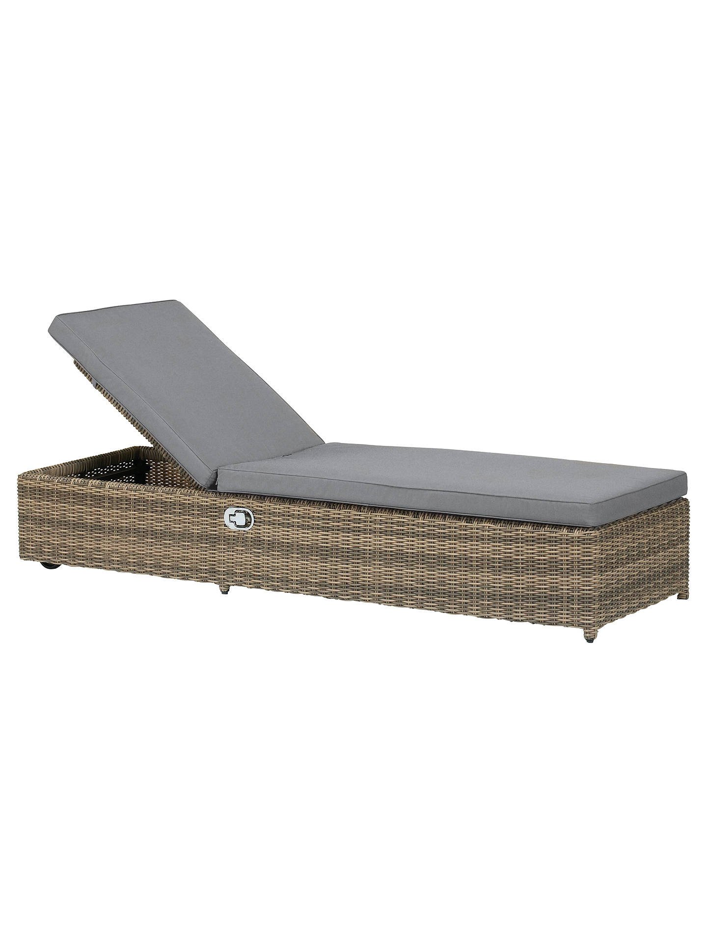 Buy Royalcraft Wentworth Sun Lounger Online at johnlewis.com