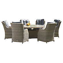 Buy Royalcraft Wentworth 6-Seater Outdoor Dining Set Online at johnlewis.com