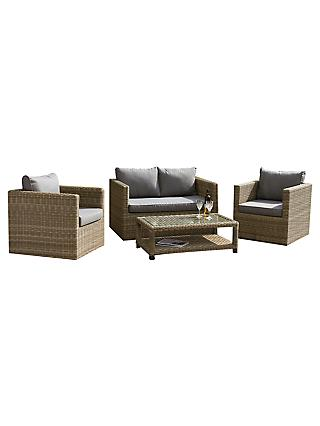 Royalcraft Wentworth 4 Seater Garden Lounging Set