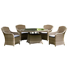 Buy Royalcraft Wentworth 4-Seater Outdoor Dining Set Online at johnlewis.com