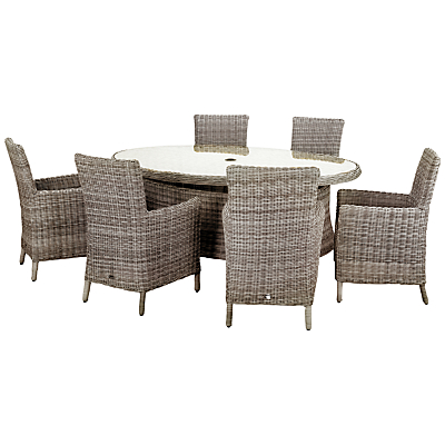 Royalcraft Wentworth 6-Seater Outdoor Dining Set