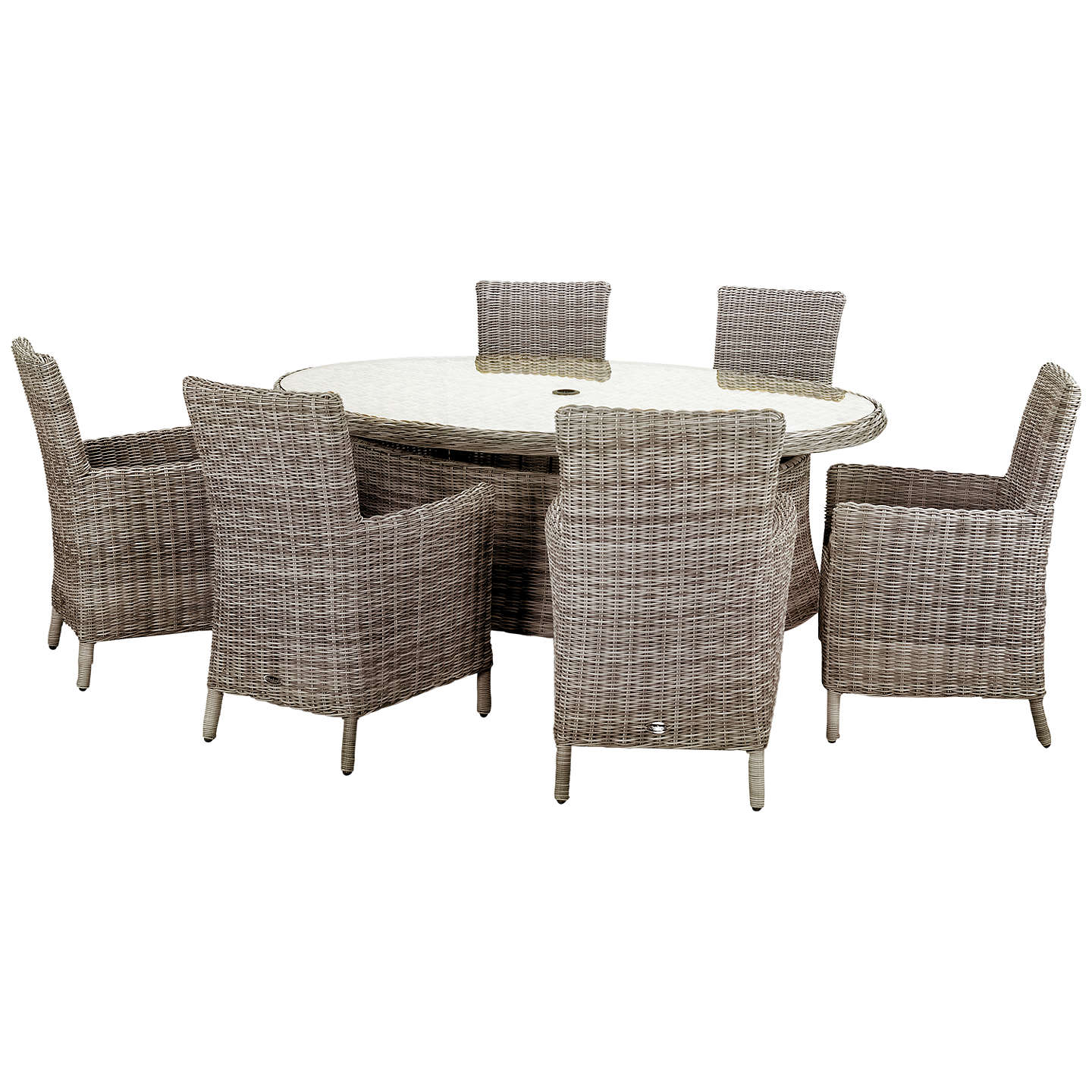Royalcraft Wentworth 6-Seater Garden Dining Table And
