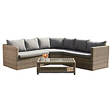 Buy Royalcraft Wentworth Lounge Set with Coffee Table Online at johnlewis.com