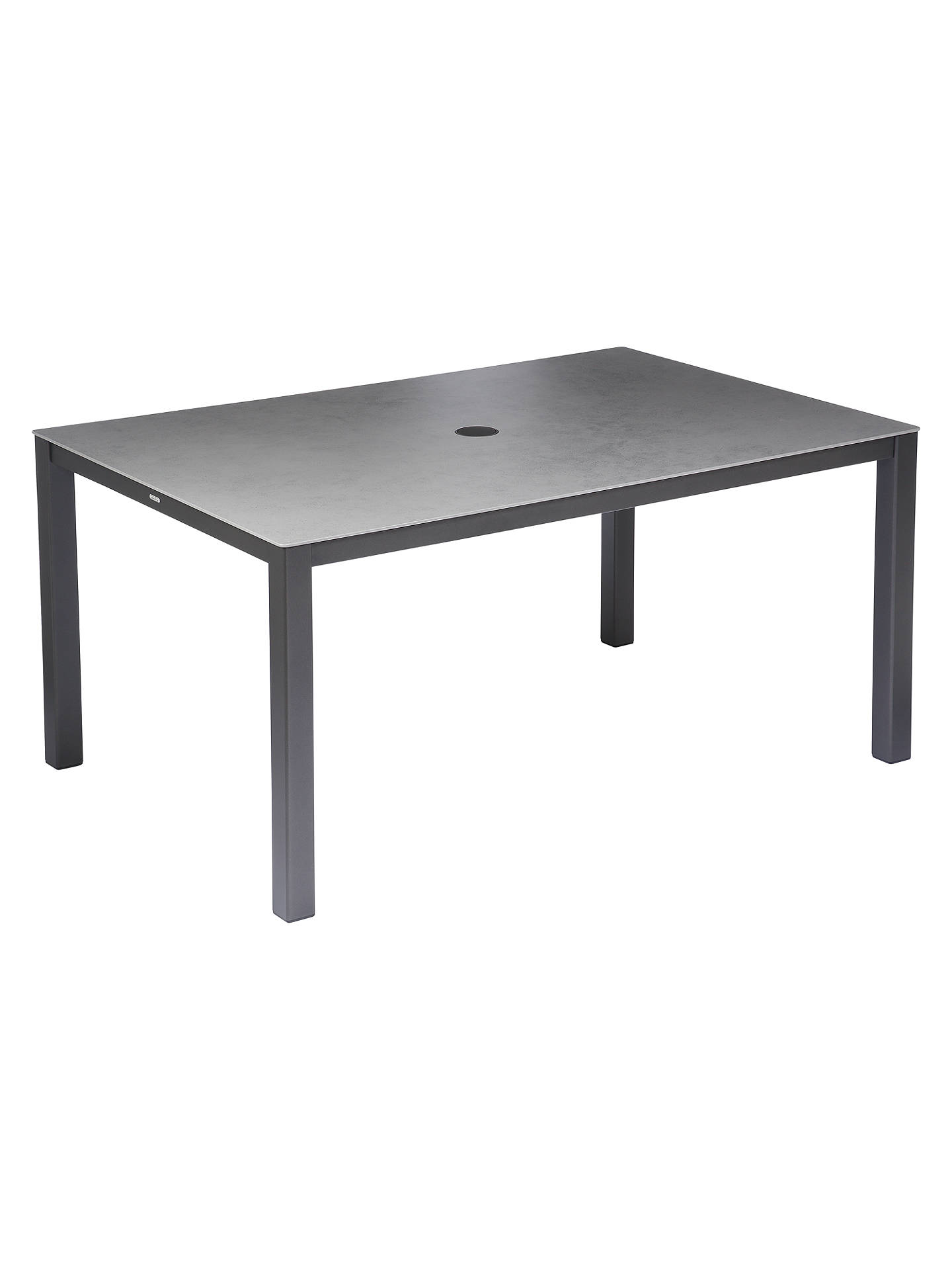 BuyBarlow Tyrie Cayman 6-Seater Garden Dining Table, Graphite / Storm Online at johnlewis.com