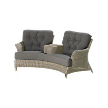 Buy 4 Seasons Outdoor Valentine Love Seat Online at johnlewis.com