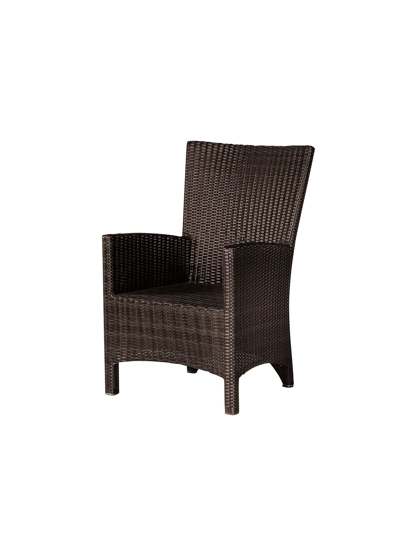 Buybarlow tyrie savannah outdoor dining armchair natural online at johnlewis com