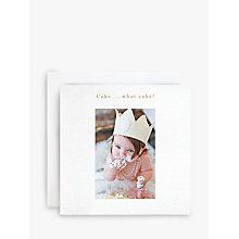 Buy Susan O'Hanlon Baby and Cake Birthday Card Online at johnlewis.com