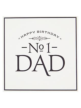 Pigment No 1 Dad Birthday Card