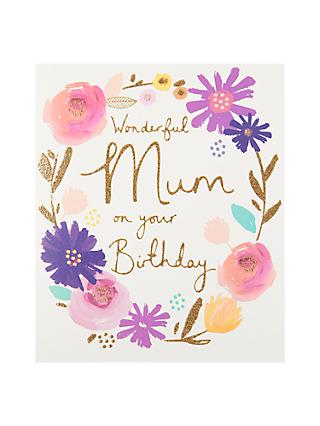 Birthday Mum Greetings Cards John Lewis Partners