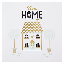Buy Black Olive New Home Greeting Card Online at johnlewis.com
