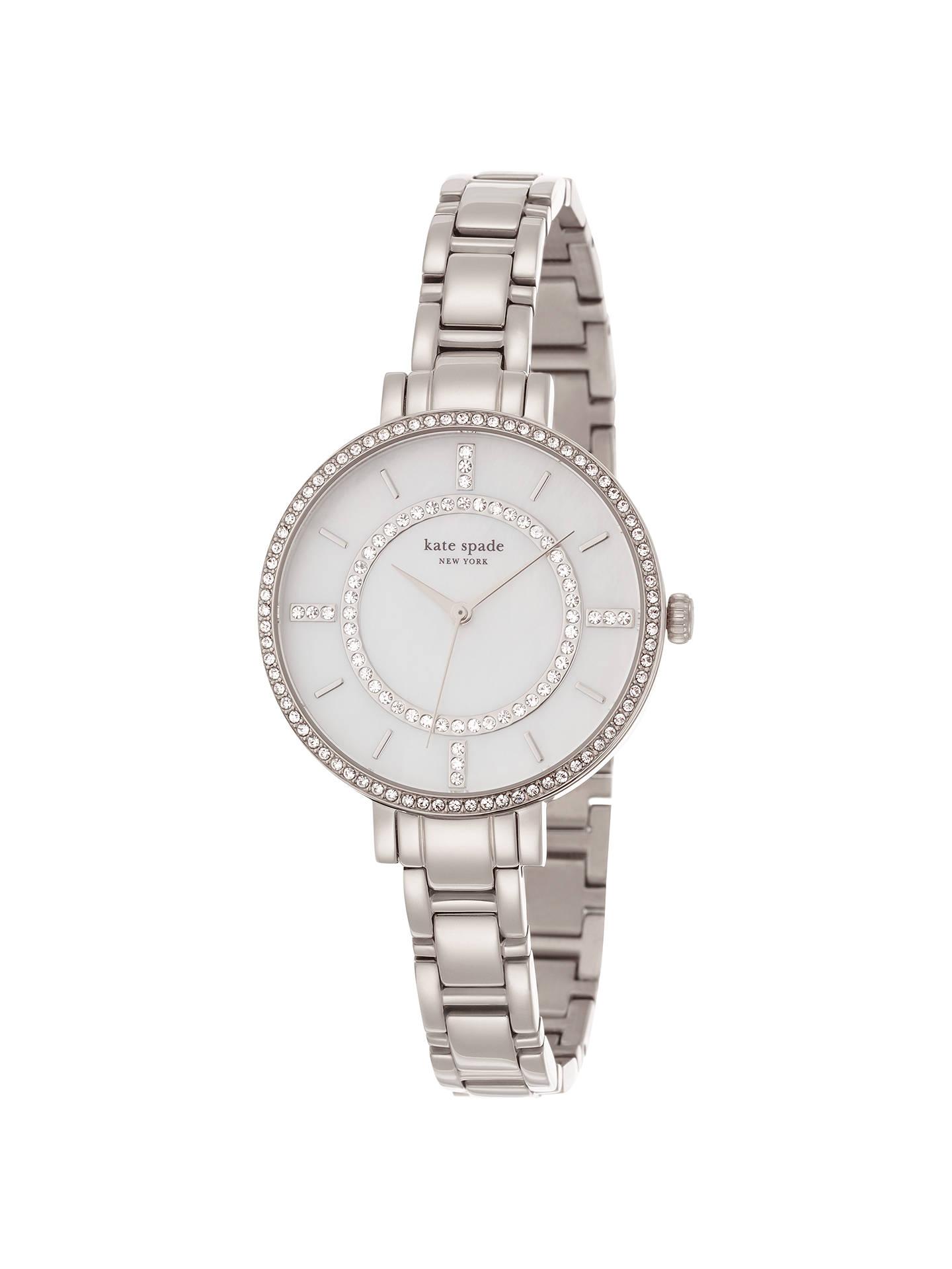 6dc5b3976 Buy kate spade new york 1YRU0691 Women's Gramercy Skinny Stainless Steel  Bracelet Strap Watch, Silver