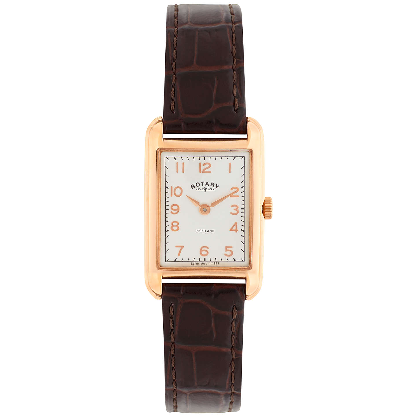 watches women rsp at portland rotary strap leather rectangular buyrotary s online brown johnlewis pdp white watch main