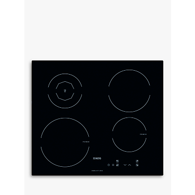 AEG HK604200IB Electric Touch Control Induction Hob, Black