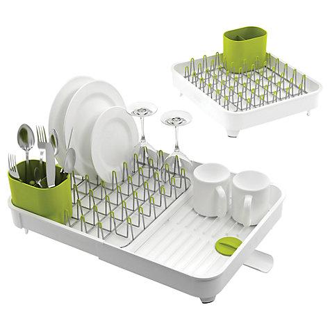 buy joseph joseph extend expandable dish rack john lewis. Black Bedroom Furniture Sets. Home Design Ideas