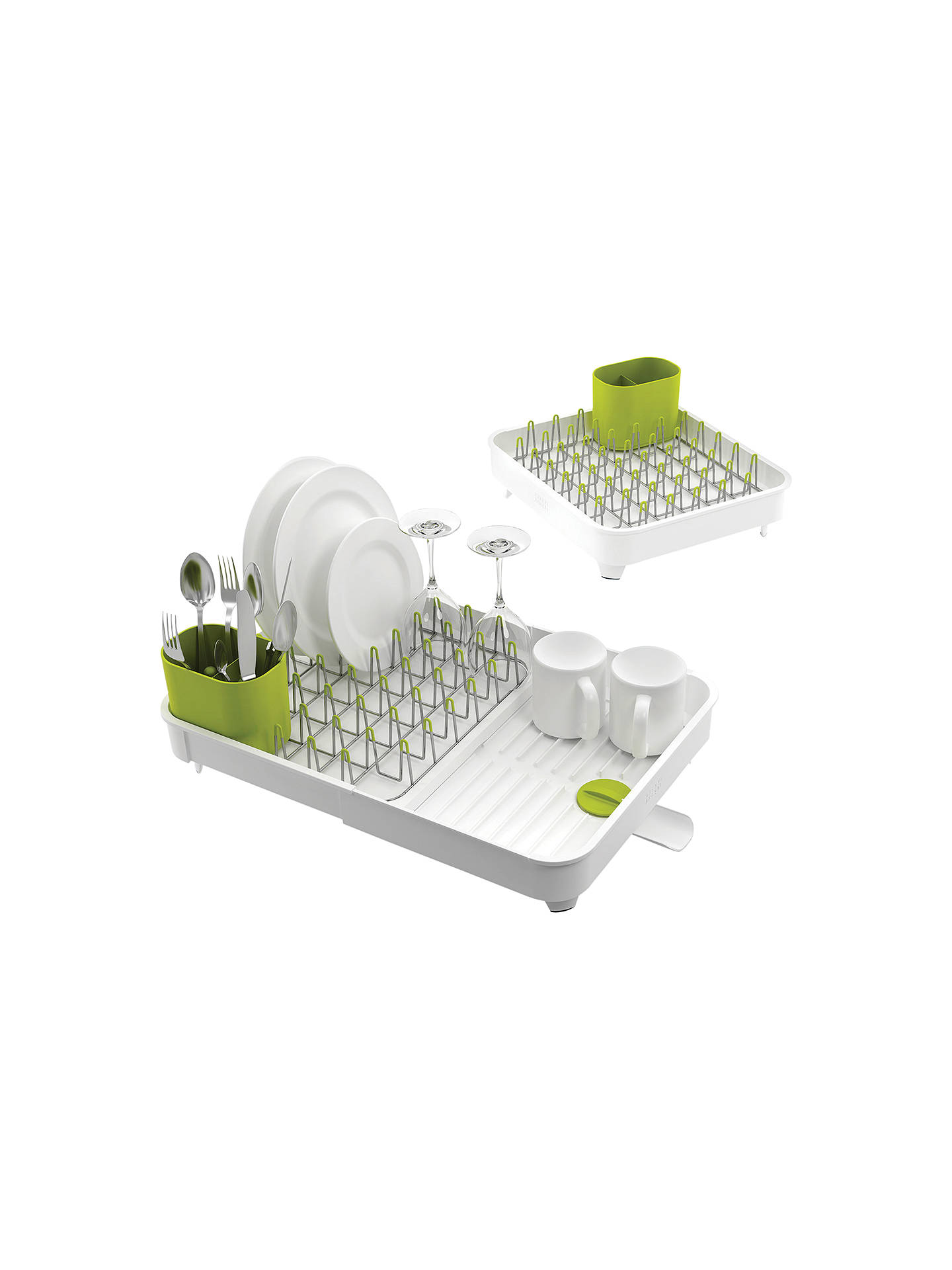Joseph Extend Expandable Dish Rack White Green Online At Johnlewis