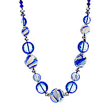 Buy Martick Candy Cane Murano Glass Necklace Online at johnlewis.com